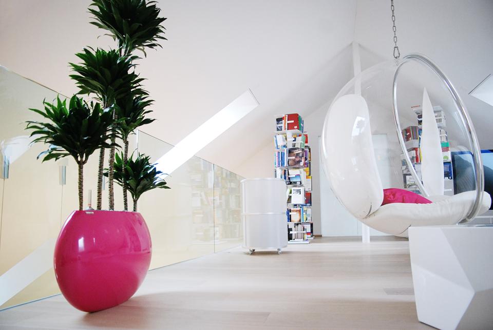 Moderne Wohnung mit klarem Design